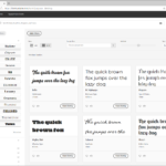 Adobe CC | Adobe Fonts에서 글꼴 추가하는 방법과 폰트 라이선스